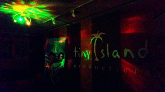 Party Time at Tiny Island Productions!